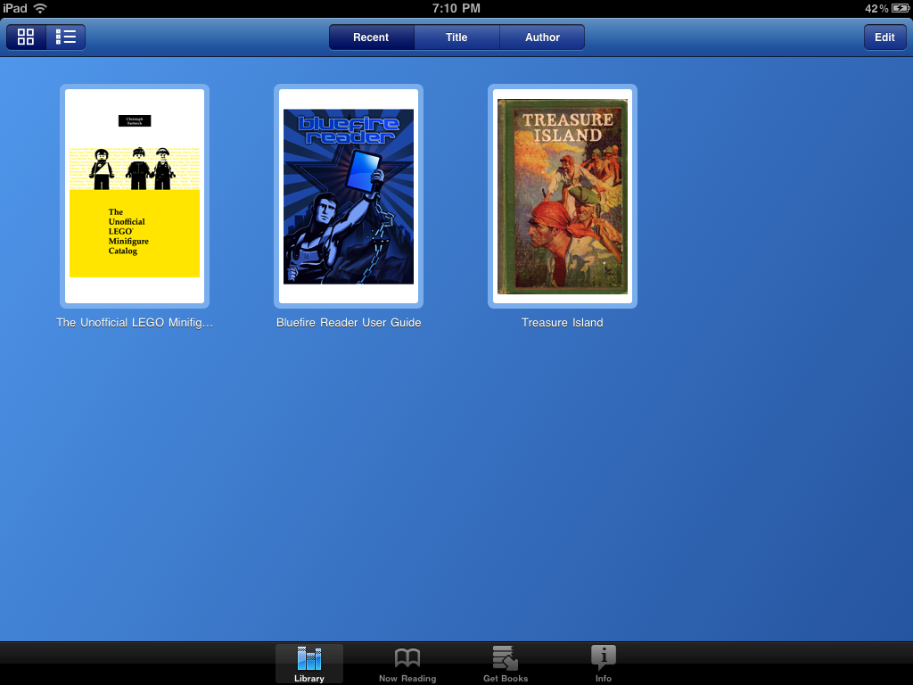 Read the catalog on an iPad