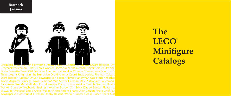 The LEGO Minifigure Catalog