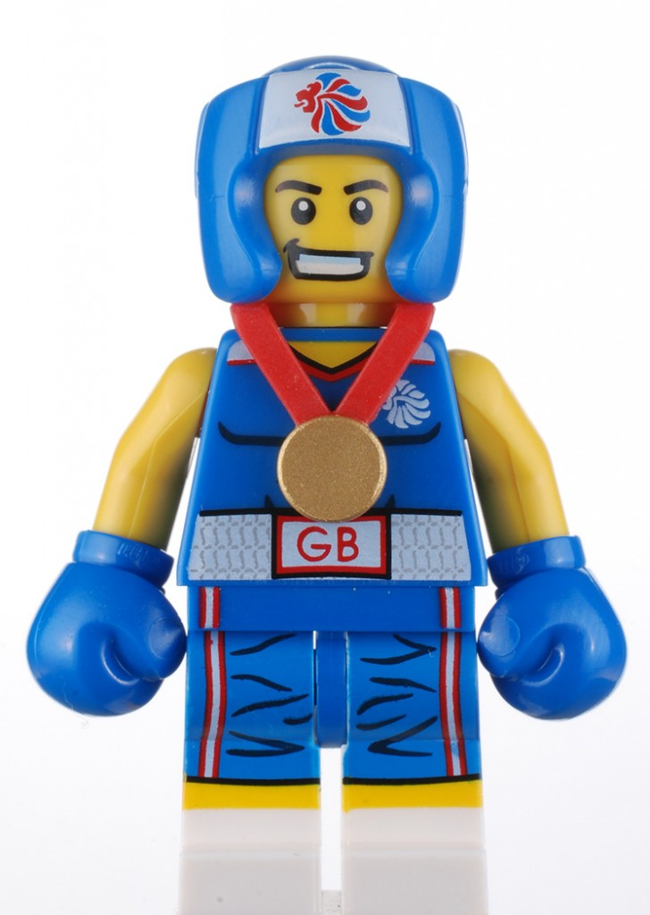 Team GB Boxer LEGO Minifigure